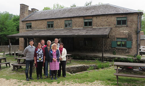 Participants in the DVMWHS demonstration site stakeholder meeting at Cromford Mill, UK.