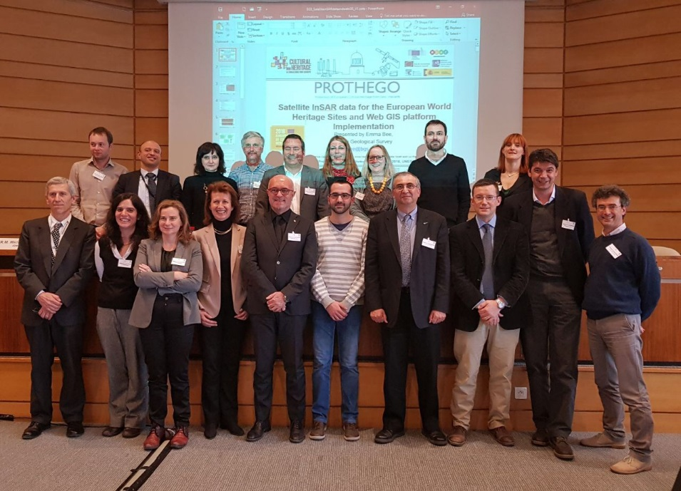 The PROTHEGO team at UNESCO